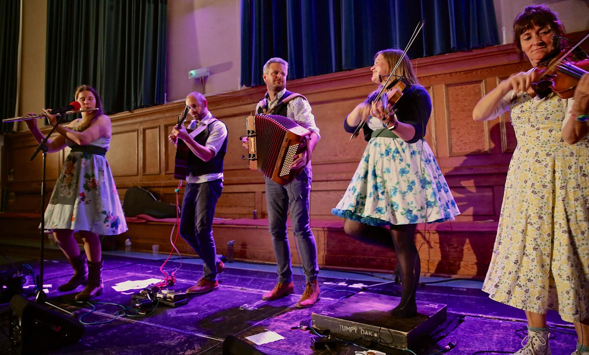 Stumpy Oak at Cecil Sharp House